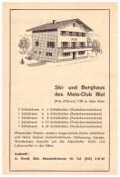 Werbung / Reklame - Moto-Club Biel / Bienne , 1961 , Motorsport , A. Evard , Anzeige !!! - BE Bern