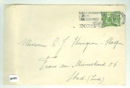 BRIEFOMSLAG UIT 1937 GELOPEN LOKAAL AMSTERDAM   (10.421) - Periode 1891-1948 (Wilhelmina)