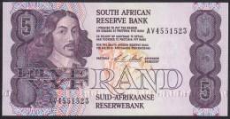 South Africa 5 Rand 1990-94 P119e UNC - Suráfrica