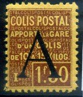 FRANCE COLIS POSTAUX 1926 N° YVERT N° 82  DENTELE NEUF AVEC TRACE DE CHARNIERE - Nuovi