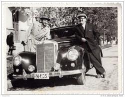 Autos Voitures Automobiles - Photo Originale D´époque - MERCEDES Type 300 ? - Coches