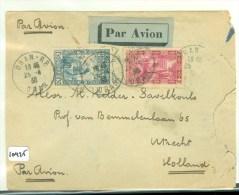 ALGERIJE * LP * BRIEFOMSLAG ALGERIJE GELOPEN IN 1938 VAN ORAN Naar UTRECHT  (10.425) - Algerije (1962-...)