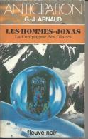 """FLEUVE NOIR ANTICIPATION  N° 1249  """" LES HOMMES-JONAS - LA COMPAGNIE DES GLACES """"  G.J. ARNAUD - Fleuve Noir"""