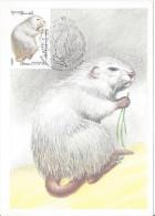URSS FDC Moscou Premier Jour 25 6 1980 Rongeur Rat Mammifère Animal - Rongeurs
