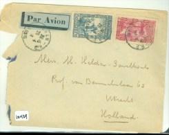 LP * BRIEFOMSLAG ALGERIJE GELOPEN IN 1938 VAN ORAN Naar UTRECHT  (10.429) - Algerije (1962-...)
