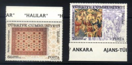 A07 - Turkey - 2005 - Mnh - Carpets Tapestries - Textile