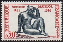 France N° 1281 ** Sculpture - La Pensée  De A. MAILLOL - France