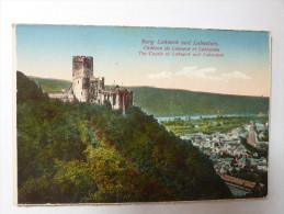 Burg Lahneck Und Lahnstein - Château De Lahneck Et Lahnstein - Lahnstein