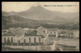 SÃO VICENTE - HOSPITAIS - Hospital S. Vicente (Ed. Bon Marché) Carte Postale - Cap Vert