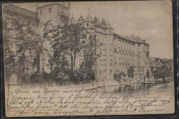 CPA - BERLIN - GRUSS AUS …. Kgl. Schloss Wasserseite - Edition J.Goldiner - Autres