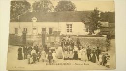 Baslieux-Les-Fismes : Mairie Et Ecole - France