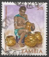 Zambia. 1981 Native Crafts. 5n Used. SG 339 - Zambia (1965-...)
