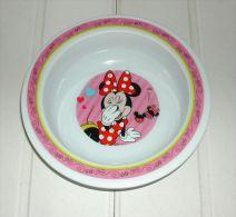 Assiette Creuse 16 Cm Minnie De Marque Trudeau En Polyproylène - Plates