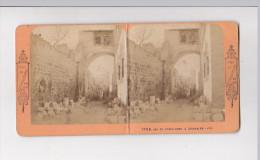 Photo Stereo Stéreoscopique Vues De Palestine Et Egypte Arc De L ECCE HOMO à JERUSALEM 2756 JA - Stereoscoop