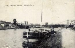 51 PORT à BINSON Bords De MARNE Péniche - France
