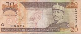 BILLETE DE LA REP. DOMINICANA DE 20 PESOS ORO DEL AÑO 2003 (BANKNOTE) - República Dominicana