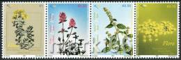 Kosovo - 2008 - Medical Plants - Mint Stamp Set - Kosovo