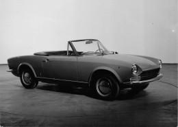 "04116 ""CARROZZERIA PININFARINA - TORINO - FOTO NR. 899 - FIAT 124 SPORT SPYDER 2+2 1966"" FOTOGRAFIA ORIGINALE - Automobili"