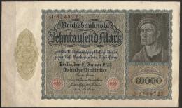 10000 Mark, Reichsbanknote. (Berlin) 19/01/1922. Allemagne/Germany. SUP - [ 3] 1918-1933 : République De Weimar