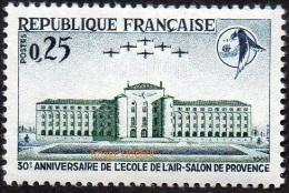 France N° 1463 ** Salon De Provence 30 ème Anniversaire De L´Ecole De L´Air (patrouille, Avion) - France
