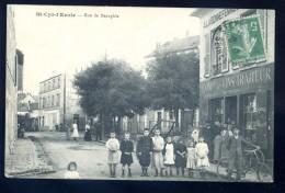 Cpa Du 78  St Cyr L' Ecole  -- Rue De Neauphle    LIOB15 - St. Cyr L'Ecole