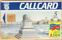 Ireland - Eir:1035, Limerick Treaty, 5 Units, 12.000 Ex, 1991 - Irlande
