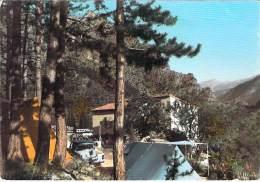 04 - ENTREVAUX : Camping De La Pinède D'Alessandri ( Tente Automobile ) CPSM Colorisée GF 1966 - Alpes Haute Provence - Andere Gemeenten