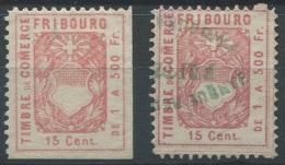 1220 - FRIBOURG Fiskalmarken - Steuermarken