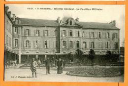 MBX-14  St. Brieuc  Hôpital Général, Pavillon Militaire. Ecrite Et Circulée Sous Enveloppe - Weltkrieg 1914-18