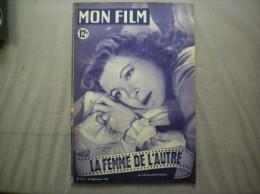 MON FILM N°168 DU 21 SEPTEMBRE 1949 GREER GARSON DANS LA FEMME DE L'AUTRE - 1900 - 1949