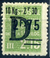 FRANCE COLIS POSTAUX 1938 N° YVERT N° 162  DENTELE NEUF AVEC TRACE DE CHARNIERE - Neufs
