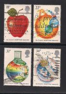 UK, 1987, Cancelled Stamps , The Principia Mathematics, 1101-1104, #14473 - Used Stamps