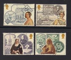 UK, 1987, Cancelled Stamps , Queen Victoria, 1117-1120, #14476 - Used Stamps