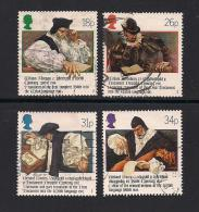 UK, 1988, Cancelled Stamps , WelshBible,  1139-1142, #14524 - Used Stamps