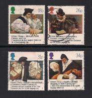 UK, 1988, Cancelled Stamps , WelshBible,  1139-1142, #14524 - 1952-.... (Elizabeth II)