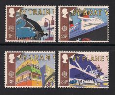 UK, 1988, Cancelled Stamps , EUROPA Transports,  1147-1150, #14526 - 1952-.... (Elizabeth II)