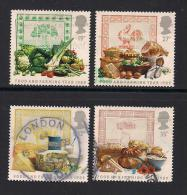 UK, 1989, Cancelled Stamps , Food And Farming Year,  1194-1197, #14533 - Used Stamps