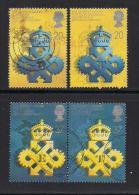 UK, 1990, Cancelled Stamps , Queen's Awards,  1266-1269, #14538 - 1952-.... (Elizabeth II)