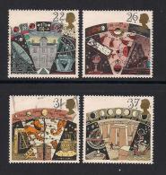 UK, 1990, Cancelled Stamp(s) , Astronomy,  1296-1299, #14543 - 1952-.... (Elizabeth II)