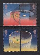 UK, 1991, Cancelled Stamp(s) , EUROPA,  1337-1340#, #14549 - Used Stamps