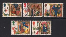 UK, 1991, Cancelled Stamp(s) , Christmas,  1367-1371, #14554 - 1952-.... (Elizabeth II)