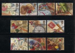 UK, 1992, Cancelled Stamp(s) , Greeting Stamps,  1377-1386, #14556 - 1952-.... (Elizabeth II)
