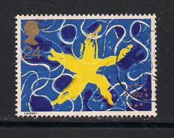 UK, 1992, Cancelled Stamp(s) , European Star,  1418, #14565 - 1952-.... (Elizabeth II)
