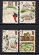 UK, 1993, Cancelled Stamp(s) , Abbotsbury Swanners,  1426-1430, #14567 - 1952-.... (Elizabeth II)