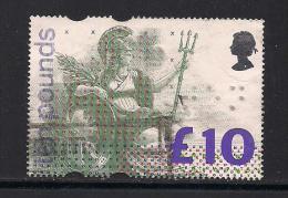 UK, 1993, Cancelled Stamp(s) , Brittania Pound 10,  1445 #14571 - 1952-.... (Elizabeth II)