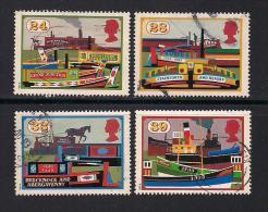 UK, 1993, Cancelled Stamp(s) , Inland Waterways,  1459-1462 #14574 - 1952-.... (Elizabeth II)