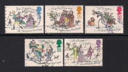 UK, 1993, Cancelled Stamp(s) , Christmas,  1483-1487 #14577 - 1952-.... (Elizabeth II)