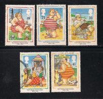 UK, 1994, Cancelled Stamp(s) , Picture Pod Cards,  1508-1512,  #14581 - 1952-.... (Elizabeth II)