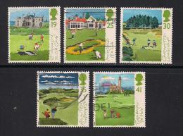 UK, 1994, Cancelled Stamp(s) , Scottish Golf Courses  ,  1522-1526  #14585 - 1952-.... (Elizabeth II)