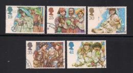 UK, 1994, Cancelled Stamp(s) , Christmas  ,  1539-1543  #14587 - 1952-.... (Elizabeth II)